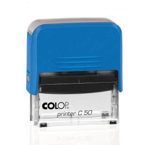 синий colop printer c50 автоматический штамп