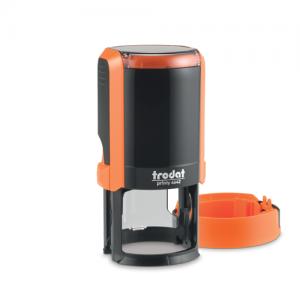 автоматическая оснастка тродат для круглой печати оранжевый