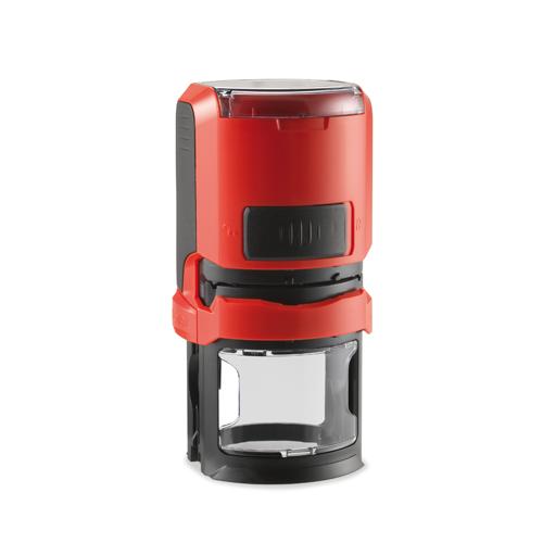 автоматическая оснастка тродат для круглой печати красный