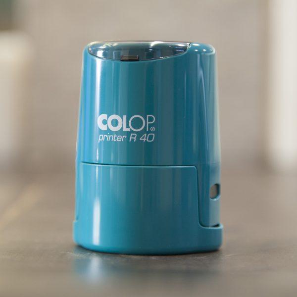 COLOP Printer R40 бирюза автоматическая оснастка для круглой печати