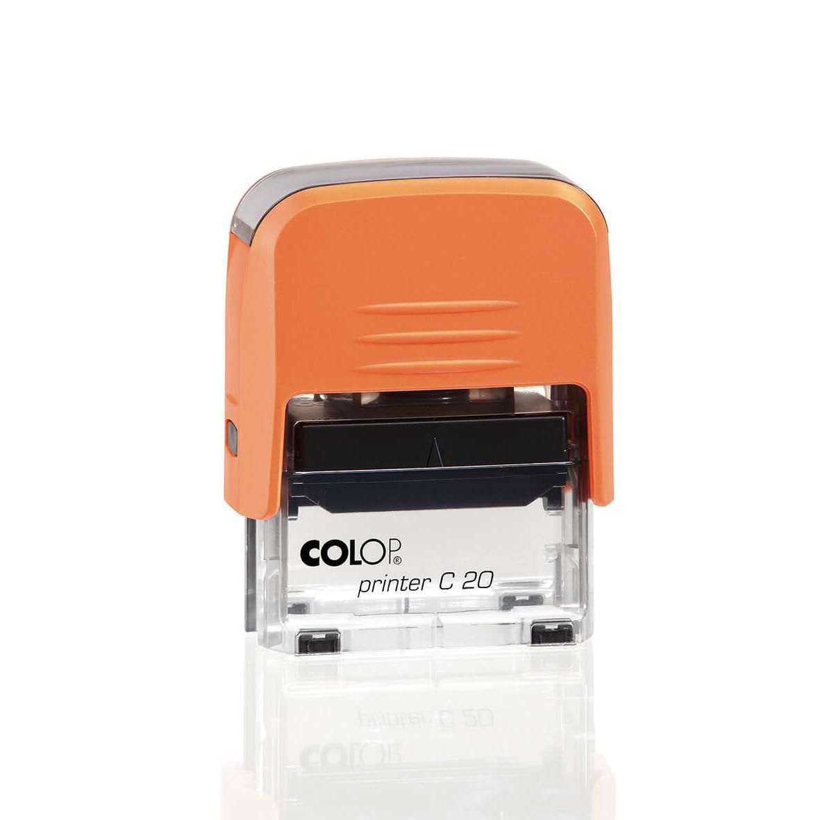 colop printer c20 оранжевый