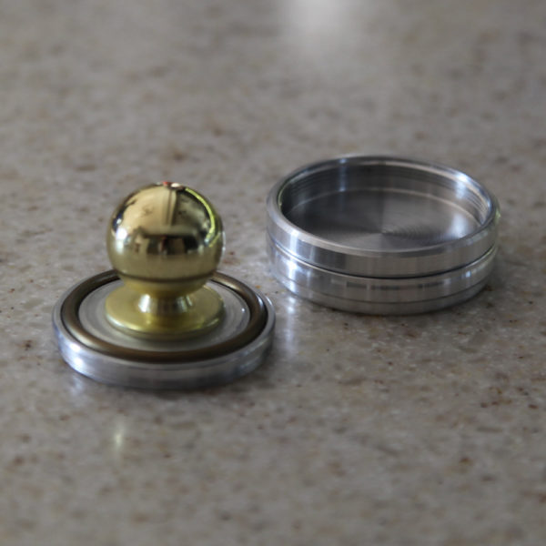 РАДИЙ оснастка для круглой печати с отделением под штемпельную подушку