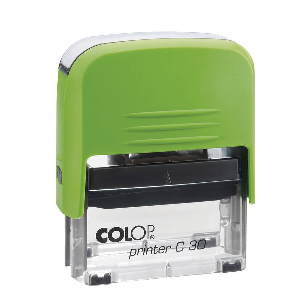 colop printer c30 зелёный