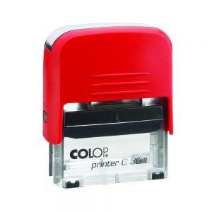 штамп colop printer c30 красный