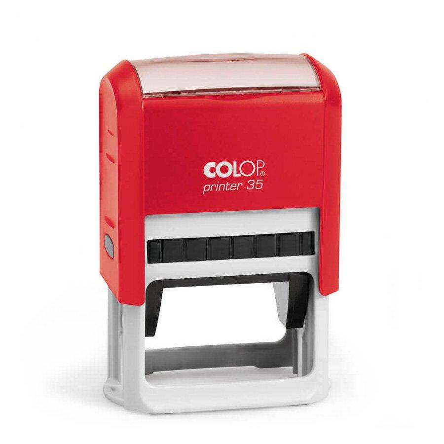 colop printer 35 красный