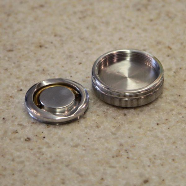 КРЫМСКАЯ 4 карманная оснастка для печати металлическая