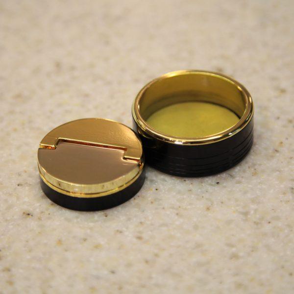МАГНЕТИК золото карманная оснастка для печати