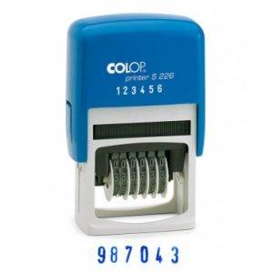 colop s226 нумератор 6 разрядов 2