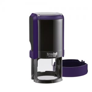 автоматическая оснастка тродат для круглой печати фиолетовая