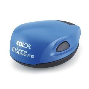 blue colop mouse карманная оснастка для печати
