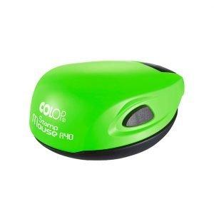 green neon colop mouse карманная оснастка для печати зелёный неон