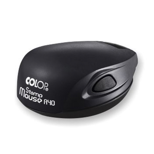 чёрная colop mouse карманная оснастка для печати