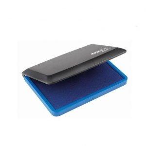 настольная штемпельная подушка синяя