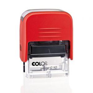 COLOP Printer C10 автоматический штамп 26x9 мм красный
