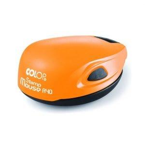 карманная печать colop mouse r40 оранжевый неон