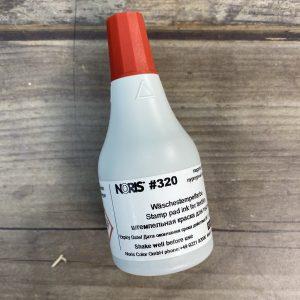 320 красная штемпельная спиртовая для ткани