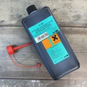 320 черная 1 л спиртовая краска для ткани