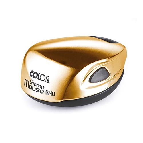 карманная печать colop mouse r40 gold