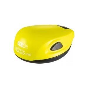 colop stamp mouse жёлтый неон печати и штампы томск