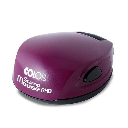 colop stamp mouse фиолетовый печати и штампы томск